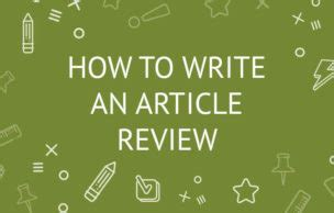 How to write an essay about articles